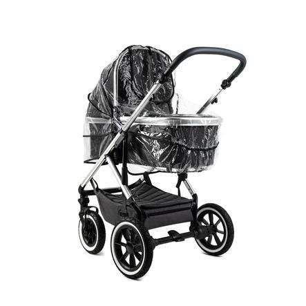 MOON Regenschutz für Kinderwagen Nuova und N°One Transparent