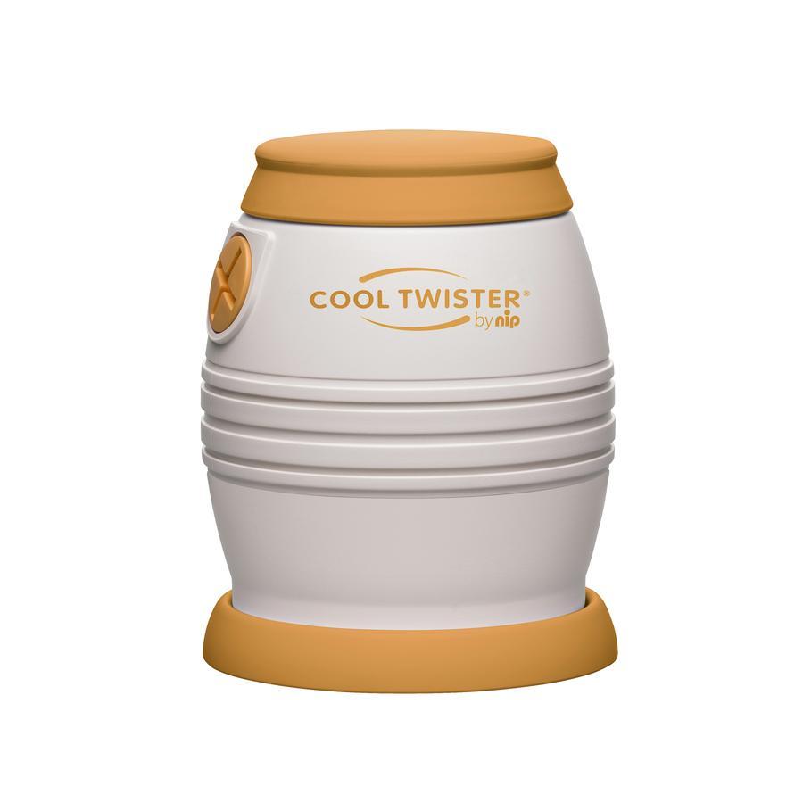 nip Refroidisseur d'eau Cool Twister orange/beige, sans BPA