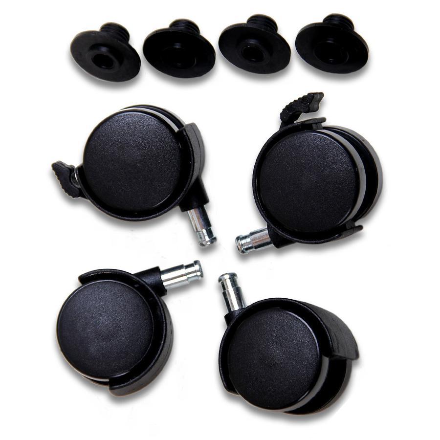 babybay Sada koleček černé