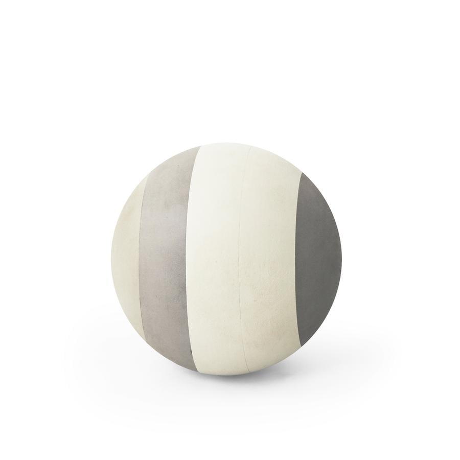 bObles® Balle d'éveil mousse gris 19 cm