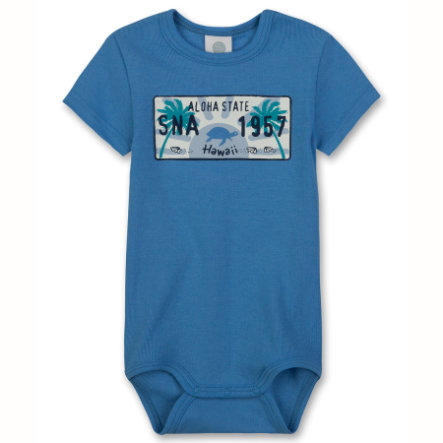 SANETTA Boys Baby Body 1/4 Arm blue