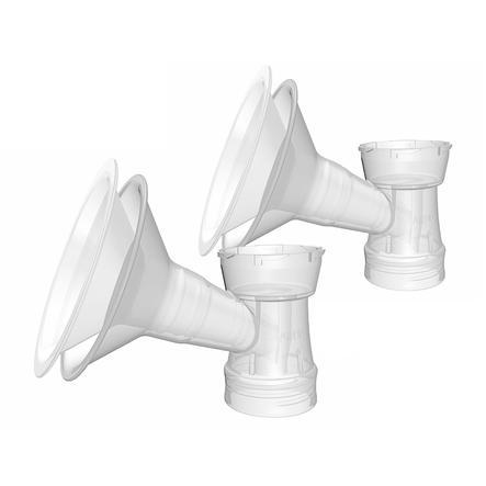 ARDO Inserto de campana de pecho 28mm y campana de pecho 31mm 2 piezas para Ardo Pumpset