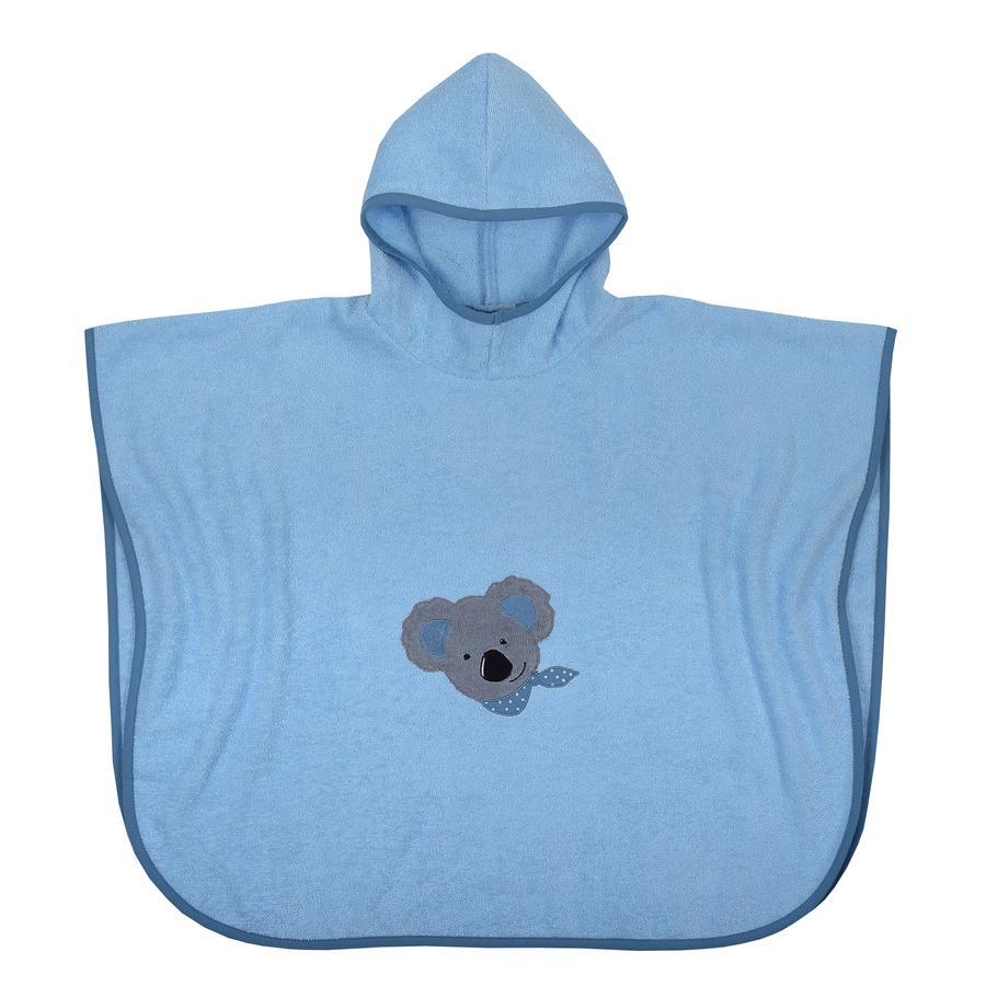 WÖRNER SÜDFROTTIER Poncho de baño Koala bleu 60 x 75 cm