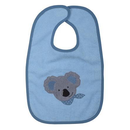 WÖRNER SÜDFROTTIER Bavoir enfant scratch koala bleu 30x45 cm