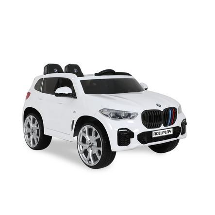 ROLLPLAY BMW X5M SUV PREMIUM 12V RC, weiß