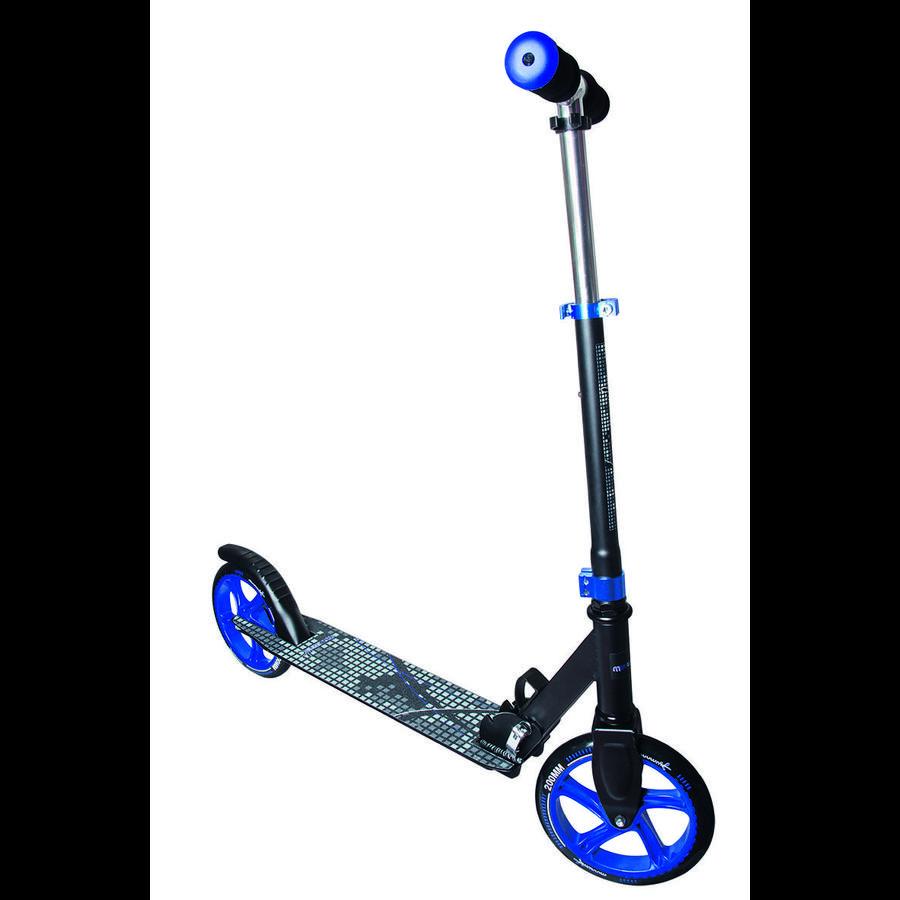 AUTHENTIC SPORTS  Aluminium Scooter Muuwmi 200 mm schwarz/blau