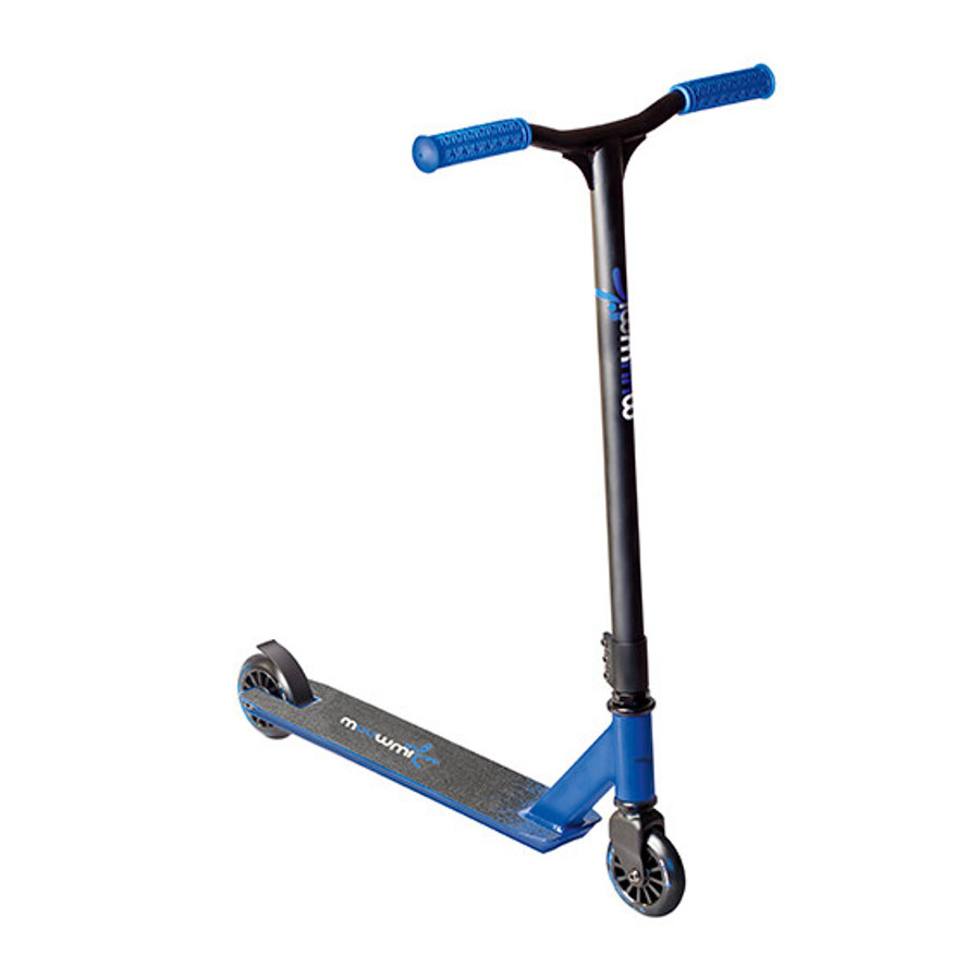 muuwmi Stuntscooter 100 mm, blau