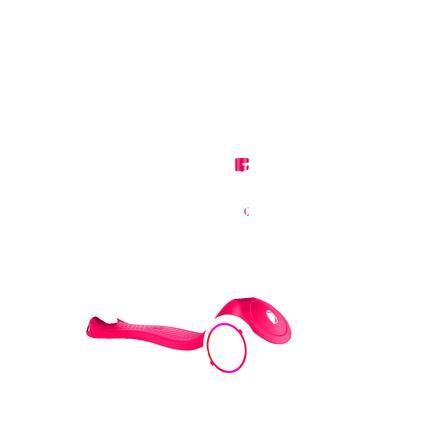 GLOBBER Scooter PRIMO LIGHTS, rot mit Leuchtrollen