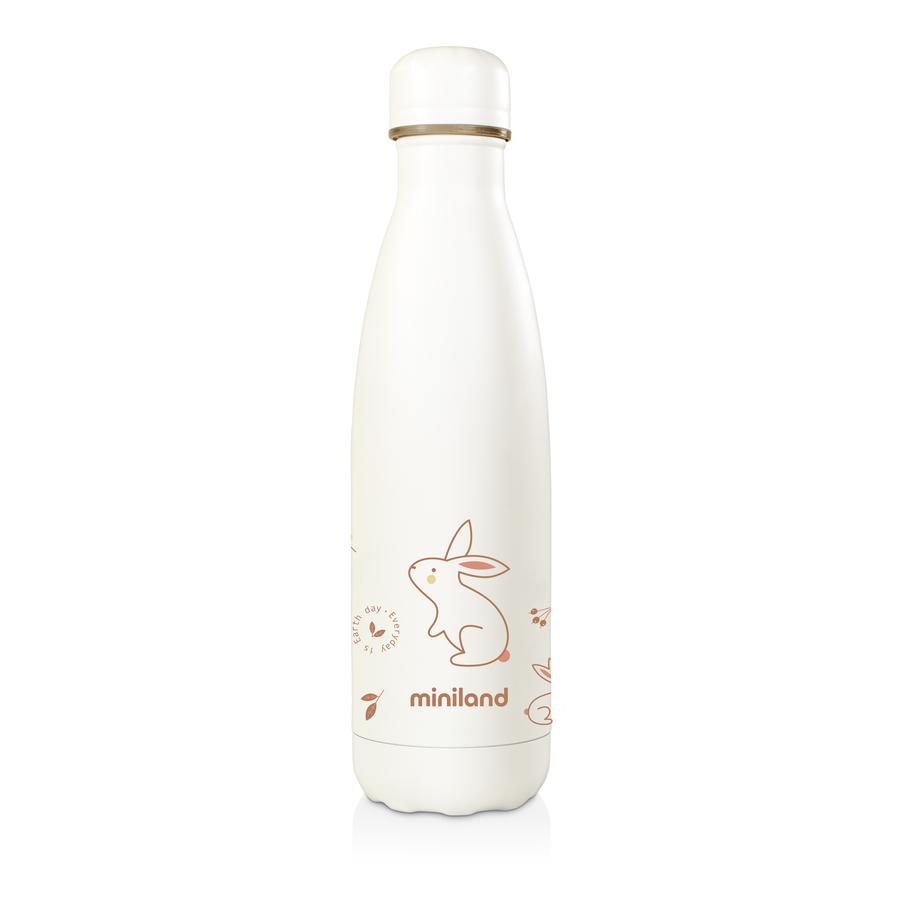 miniland Isolierflasche natur orange 500 ml