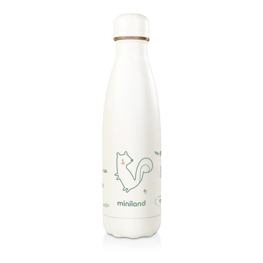 miniland Isolierflasche natur grün 500 ml