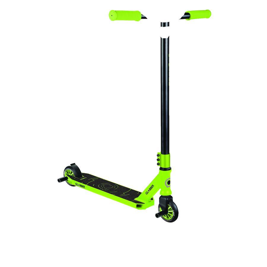 GLOBBER STUNTSCOOTER GS 540 schwarz-lime grün