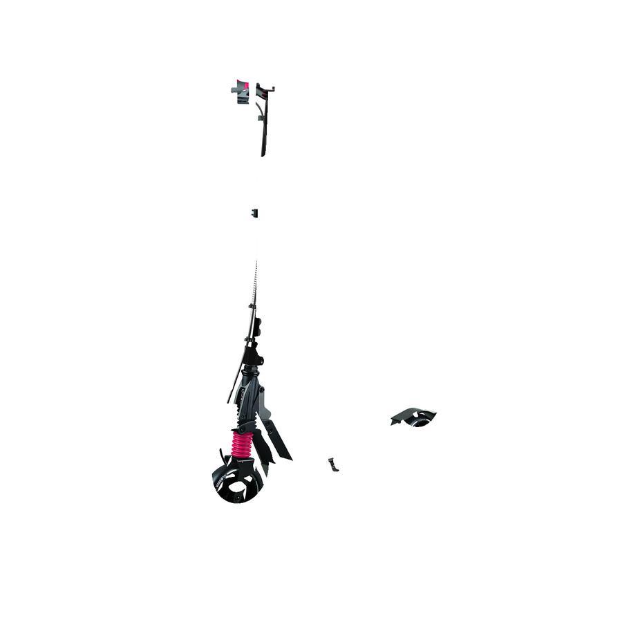 GLOBBER Scoot er med bremse ONE K 165 DELUXE, sort