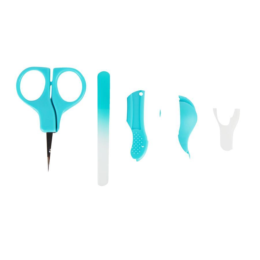 Badabulle Nagelpflege-Set in blau/weiß