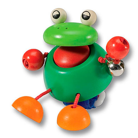 SELECTA Pushchair decoration Frog Pepito