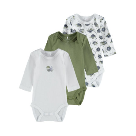 name it Body 3 pack loden Green
