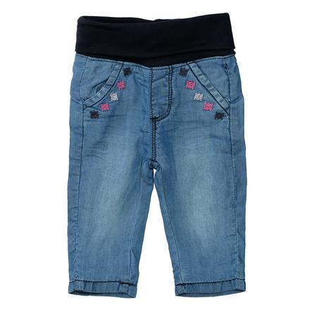 STACCATO Thermo jeans mörkblå denim