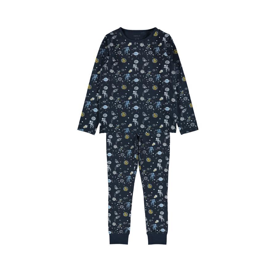name it Pyjamas 2-delt NKM NATTSETT Dark Sapphire