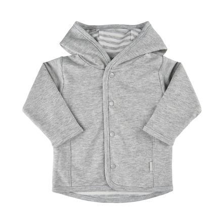 FIXONI vendbar jakke grå melange
