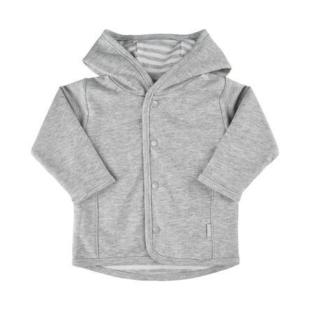 FIXONI vendbar jakke gråmelert