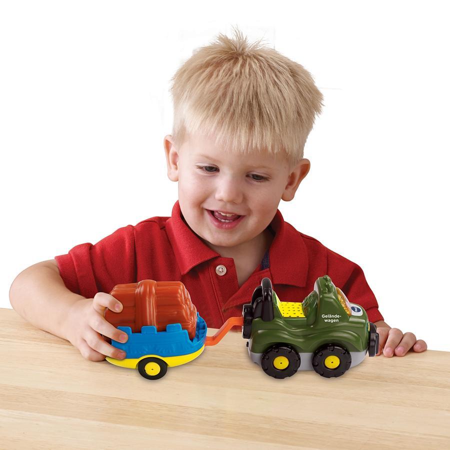 Vtech Toet Toet Babyauto - Terreinwagen & aanhanger
