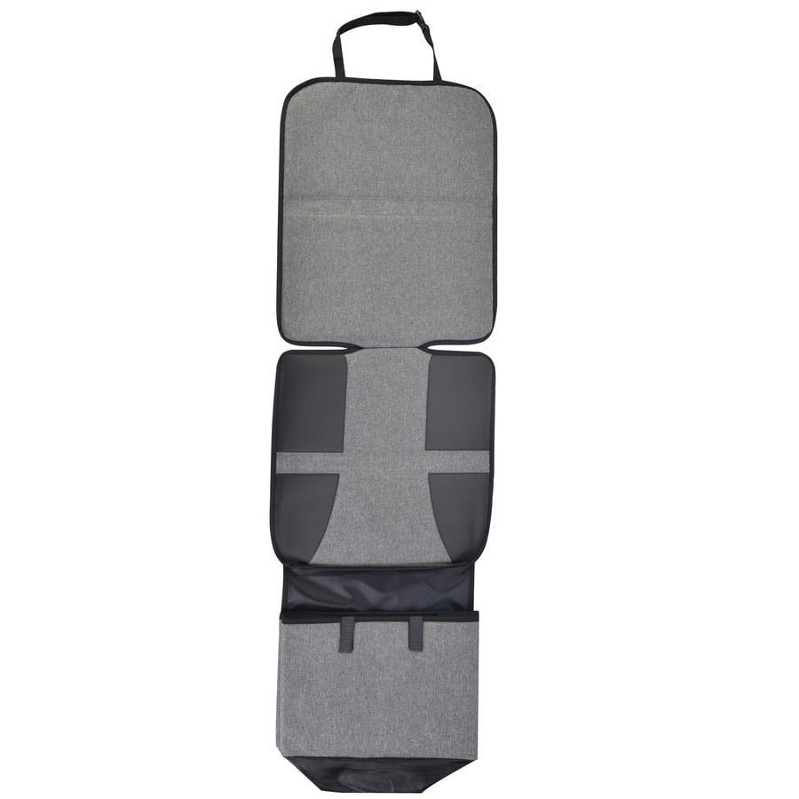 Altabebe Potah na autosedačku s opěrkou nohou černý/šedý
