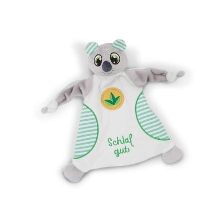 "NICI Slaapmutsen Slaapmutsen Knuffeldoekje Koala Kappy ""Sleep well""."