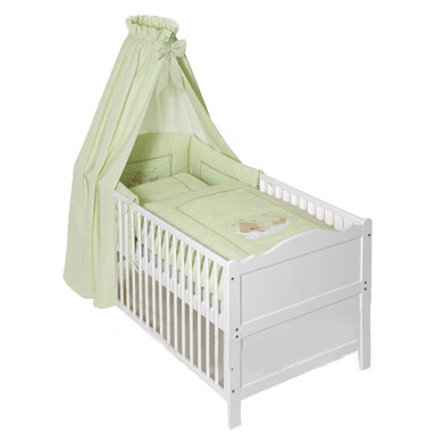 Easy Baby Bedset Sleeping bear groen (400-84)