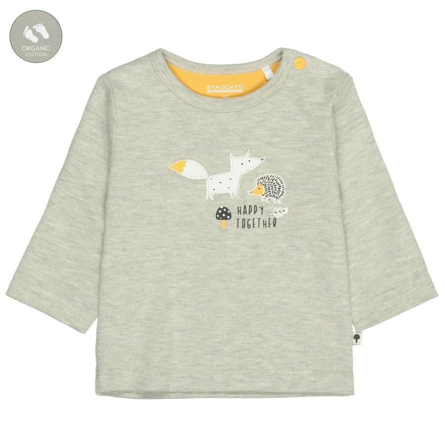 STACCATO Shirt stone melange