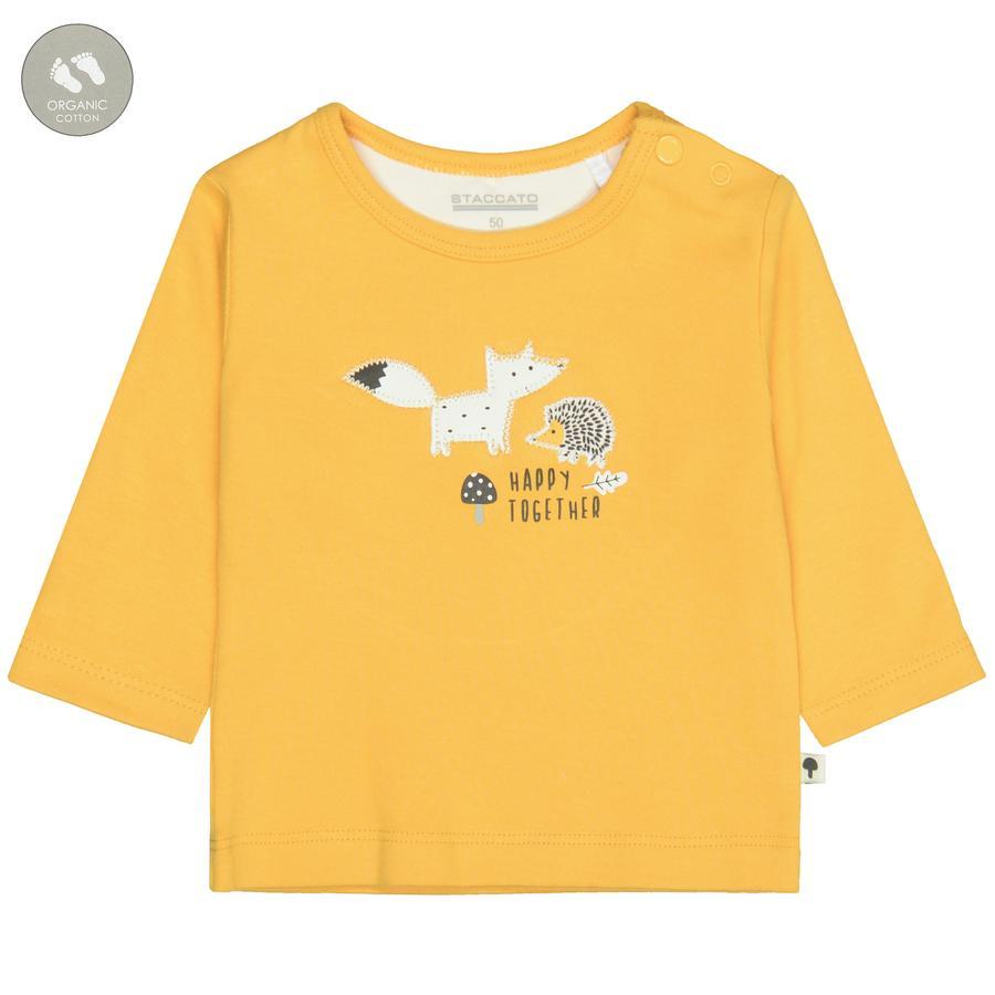 STACCATO  Camisa abrigada yellow