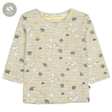STACCATO Shirt stone melange gemustert