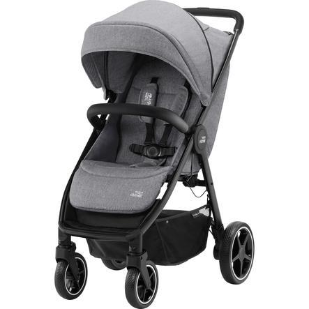 Britax Römer Kinderwagen B-Agile R Elephant Grey/Black