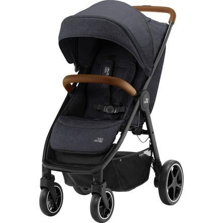 Britax Römer Kinderwagen B-Agile R Black Shadow/Brown