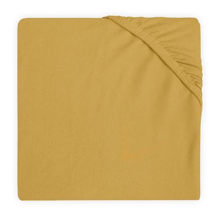 jollein Spannbettlaken Jersey mustard 40 x 80 / 90 cm