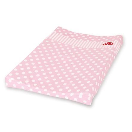 PINOLINO Dekking voor omkleedbakken, gelukspaddenstoel roze