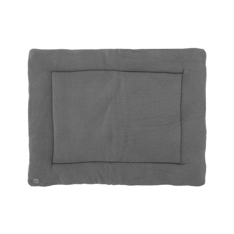 jollein Krabbeldecke Bliss knit storm grey 80x100 cm