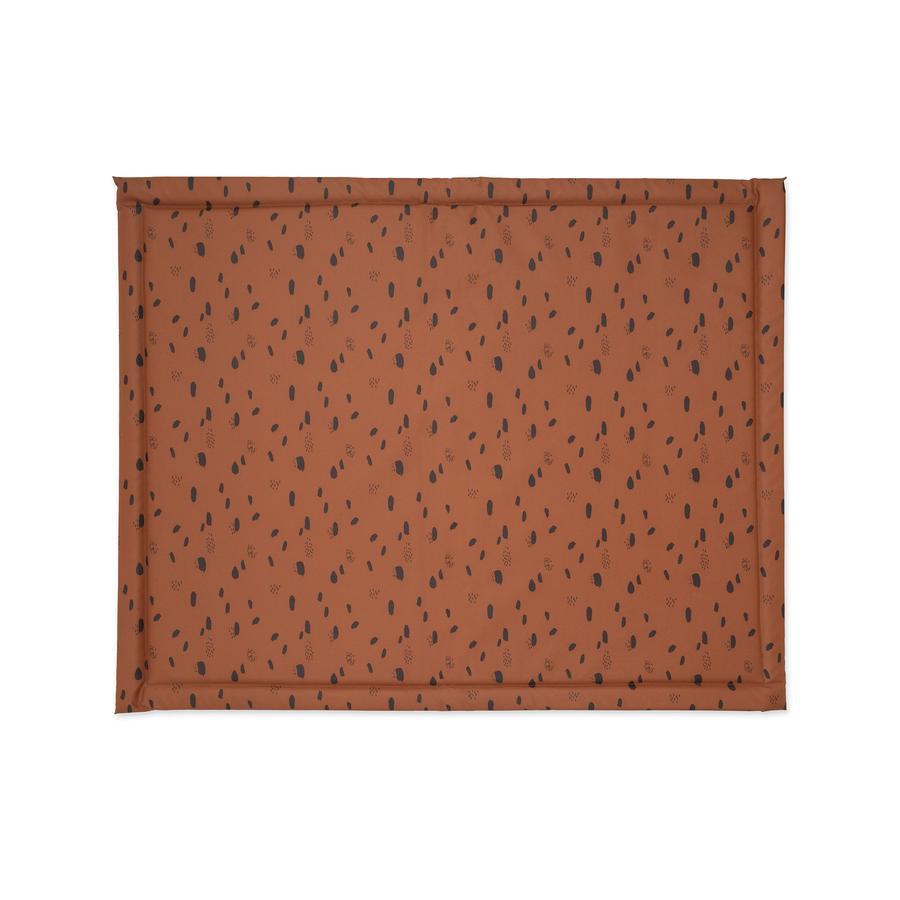 jollein Laufstalleinlage Spot caramel 75 x 95 cm