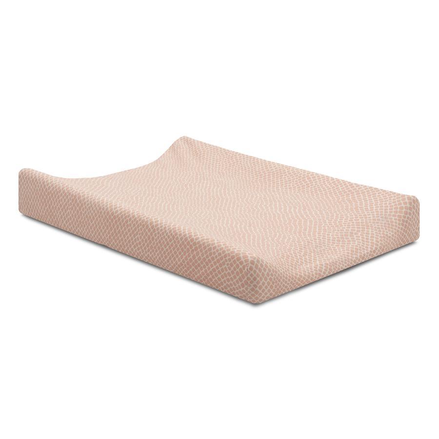 jollein Jersey potah na přebalovací podložku Snake světle růžový 50x70 cm