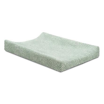 jollein Coprifodera per il cambio della maglia Cenere di serpente green 50x70 cm