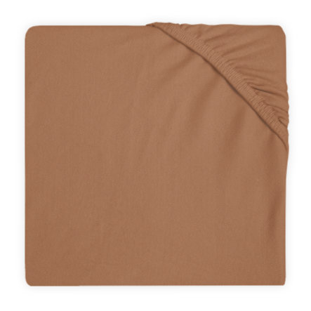 jollein Drap housse enfant Jersey caramel 60x120 cm