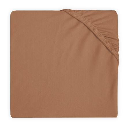 Jollein Jersey Stræklagen karamel 60x120 cm