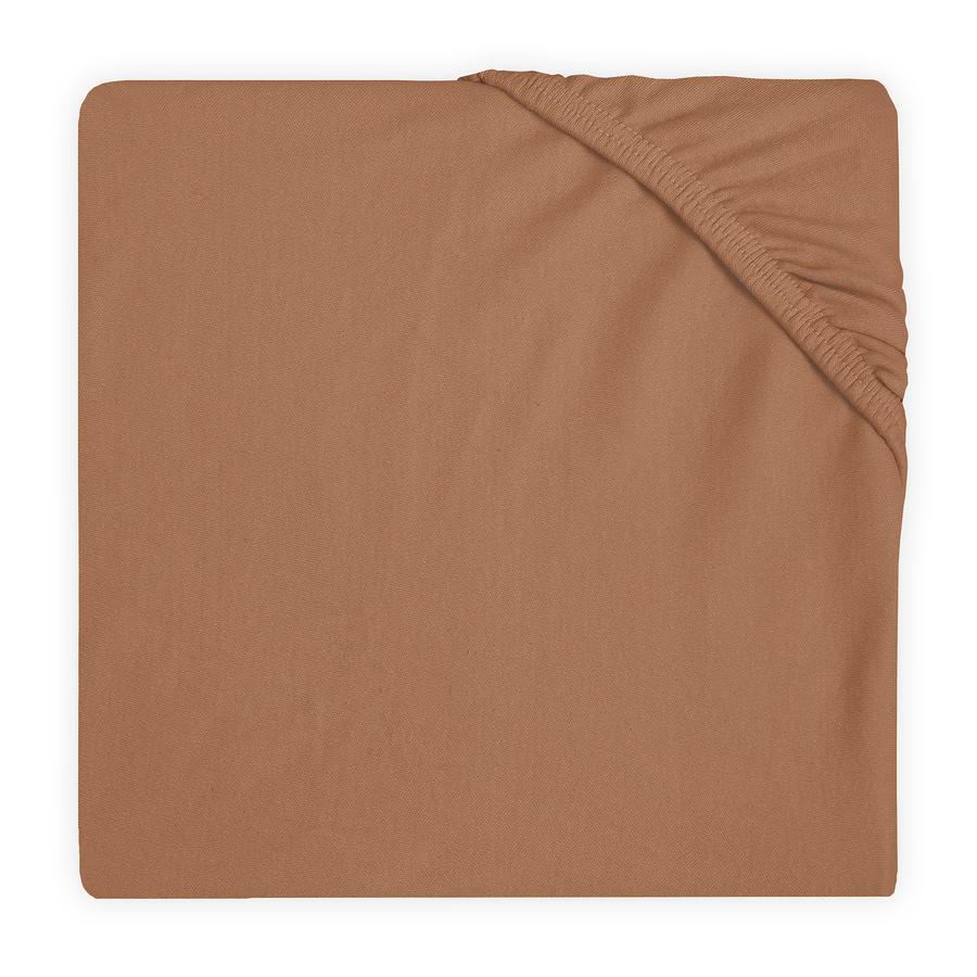 jollein Jersey hoeslaken caramel 60x120 cm