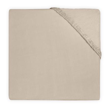 jollein Jersey passform ark nougat 60x120 cm