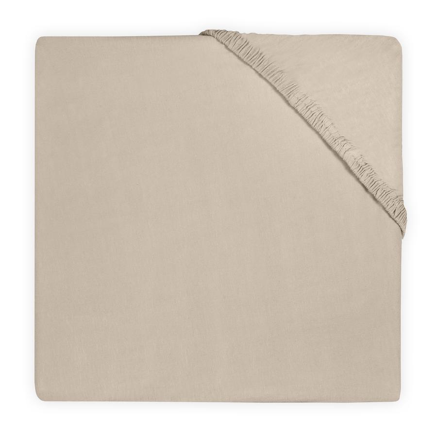 jollein Jersey prostěradlo, barva nugát 60 x120 cm