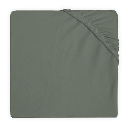 jollein Lenzuolo con angoli in jersey grigio tempesta 60x120 cm
