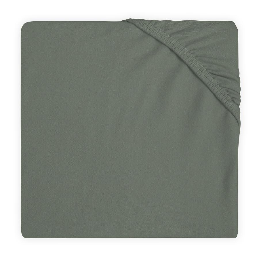 jollein Drap housse enfant Jersey ash green 60x120 cm