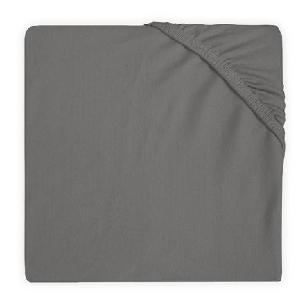 jollein Spannbettlaken Jersey storm grey 40 x 80 / 90 cm