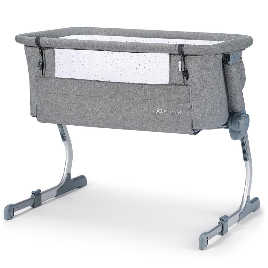 Kinderkraft Uno Up Grey ekstra seng