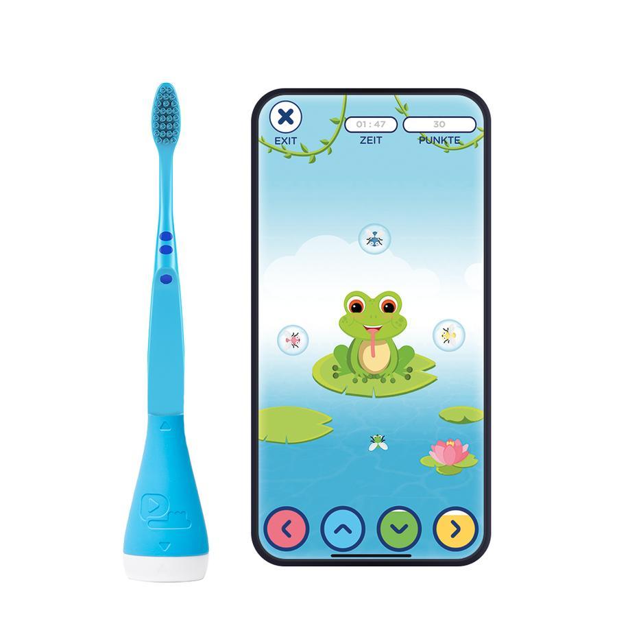 Playbrush Smart Handzahnbürste für Kinder mit gratis Zahnputz-App, blau