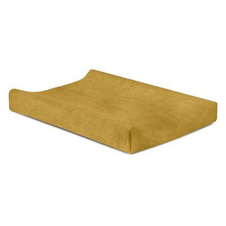 jollein Wickelkissenüberzug Frottee mustard 50 x 70 cm