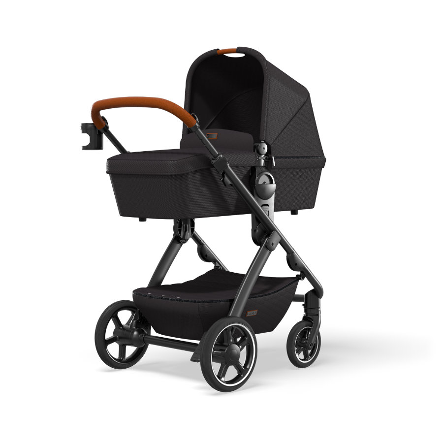 MOON Combi-kinderwagen N°ONE Grey/ Black Collectie 2021